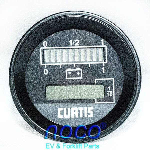 0 noco shop curtis 803 battery meter & hour meter, upgraded curtis hour meter wiring diagram at virtualis.co