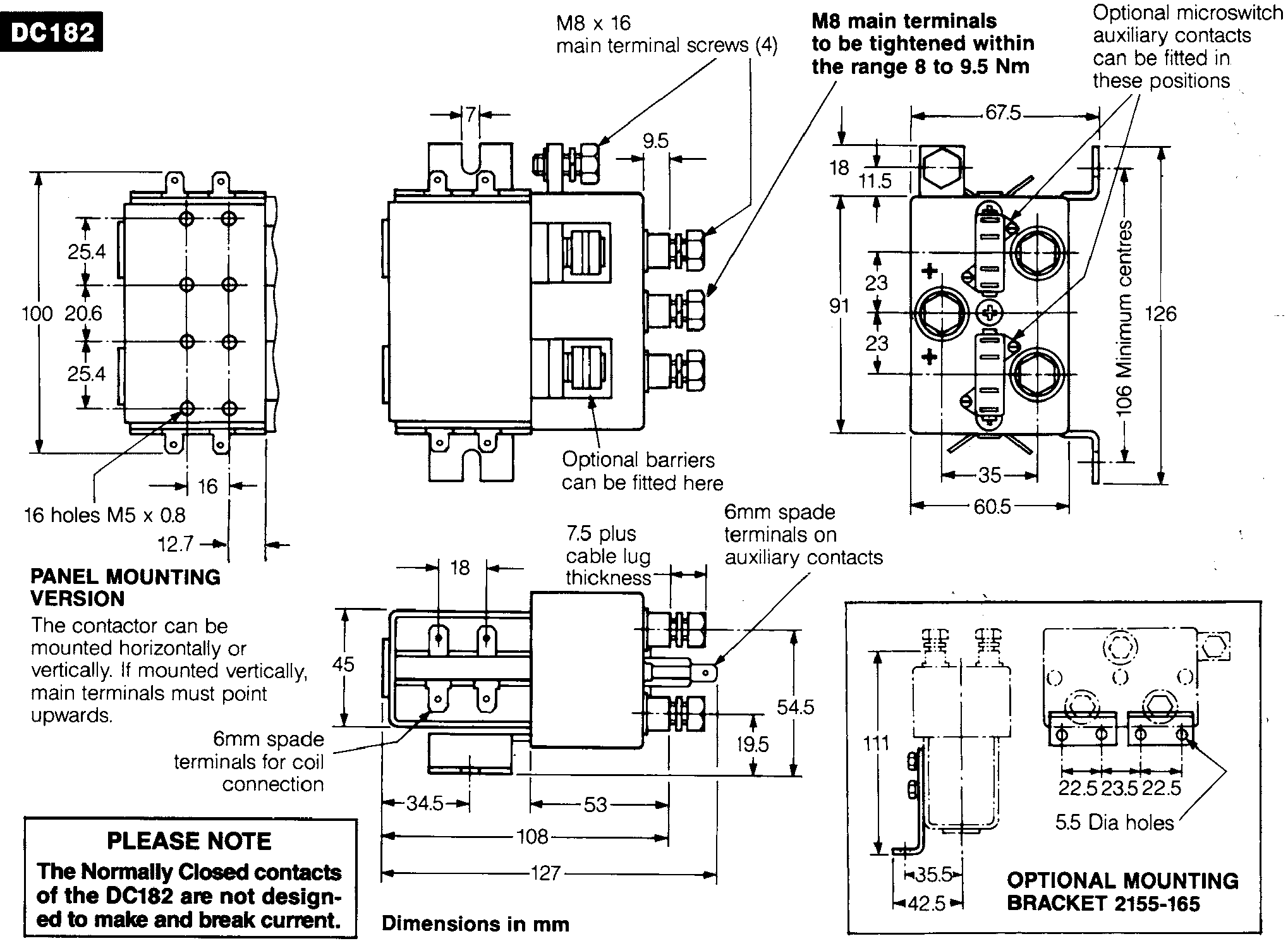 dimensions wiring diagram for reversing contactor the wiring diagram albright contactor wiring diagram at bayanpartner.co