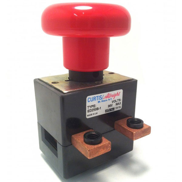 DC Emergency Disconnecting Switch, Model ED250B-1