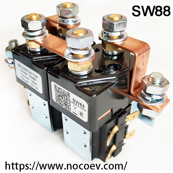 Copied CURTIS / Albright DC Contactor / Solenoid, 12V, 24V 36V, 48V, 60V, 72V CO, Model SW88, Made In China
