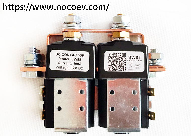 Sw88 Type Contactor For Switching Resistive  Capacitive