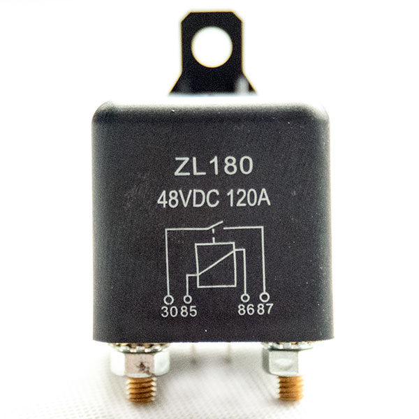 High Power Automotive DC Relay, Model ZL180 / WM686, EZGO / ClubCar Motor Starter
