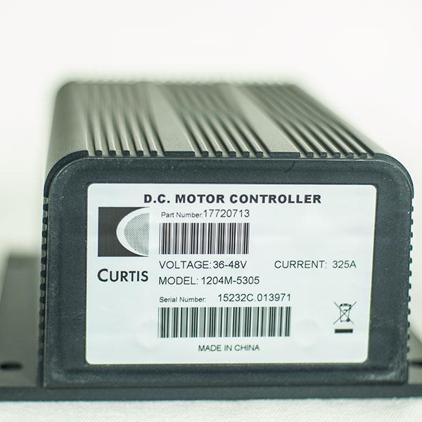 CURTIS PMC Model 1204M-5305, 36V / 48V - 325A, DC Series
