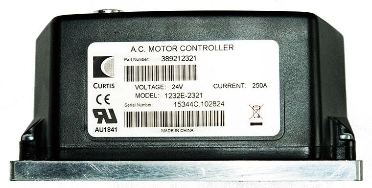 Curtis 1232E-2323 24V AC Motor Controller 1217319