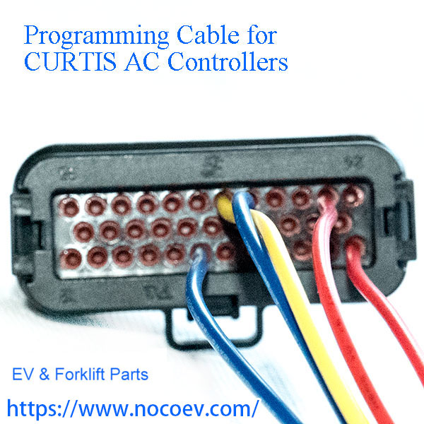 curtis 1232 1234, 1236, 1238 and 1239 ac motor speed controller programming  cable