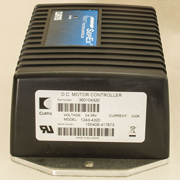 Model 1243 4320 Curtis Programmable Dc Sepex Motor