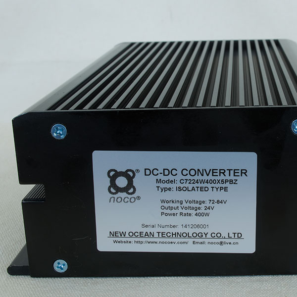 48V to 12V DC-DC Converter, 12V Automotive or Boat DC Power Source