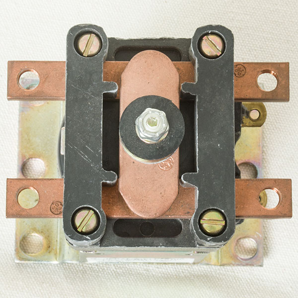 GE DC Contactor / Solenoid IC4482CTTA150AH124XN, Type A, 24V / 100A