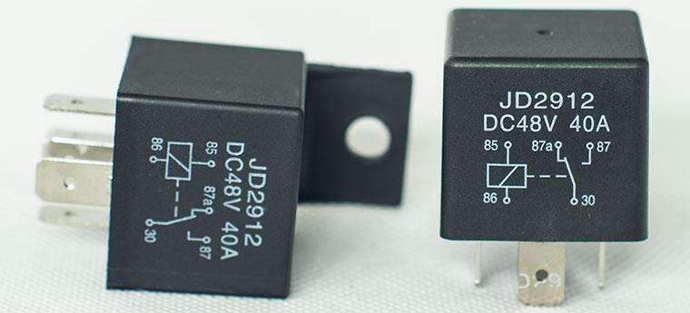 Automotive Dc Relay 40a 60a Bosch Type Spdt Relay Optional