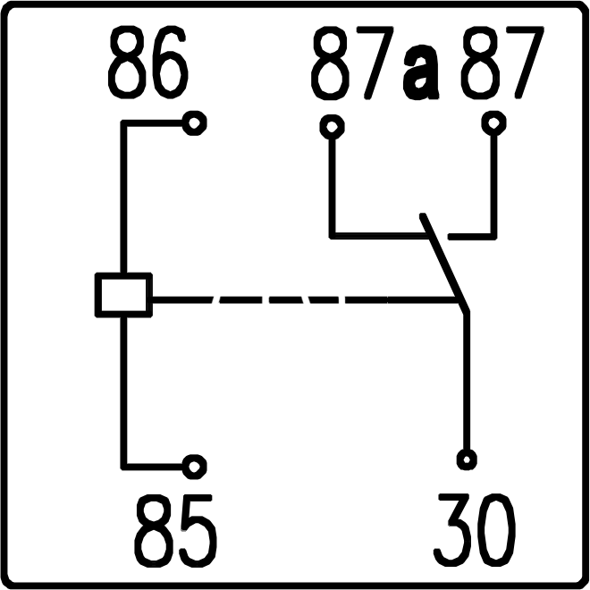 Diagram Further 5 Pin Relay Wiring Diagram Furthermore Bosch Relay