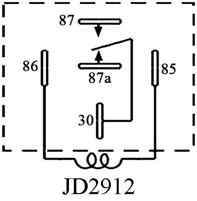 Peachy Jd2912 S Sealed Waterproof Bosch Type Dc Relay Wiring 101 Capemaxxcnl