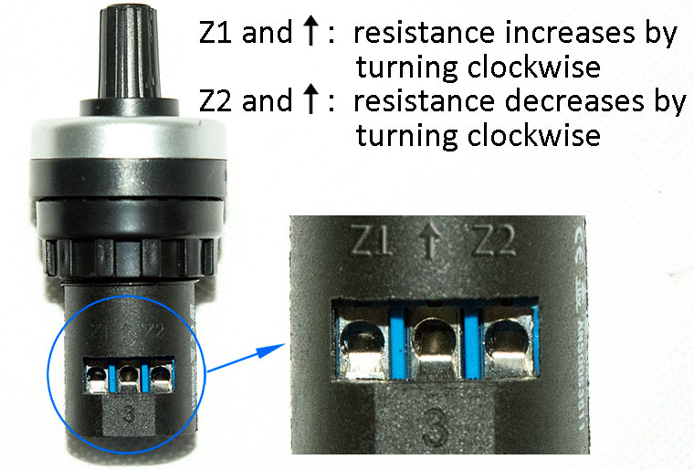 3 Wire Potentiometer 1k 2k 5k 10k