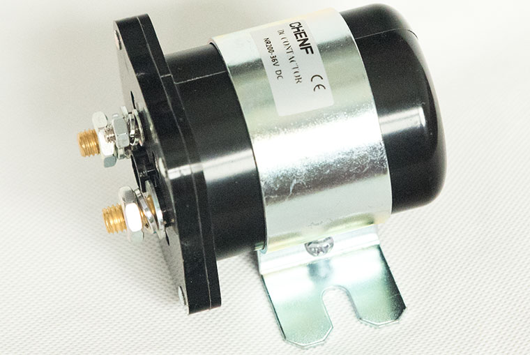 200A / 500A SPST DC Contactor / Solenoid, Model NR200 / NR500, NANFENG, NOCO SHOP; Replacement Emerson WHITE RODGERS (White-Rodgers 586-117111) Changeover Relay with BRACKET