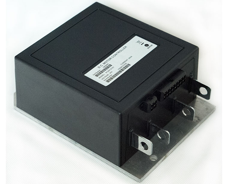 DC Series and Compound Motor Controller P1207-5101, 24V - 300A, Fully Compatible with CURTIS 1207B-4102 and 1207B-5101