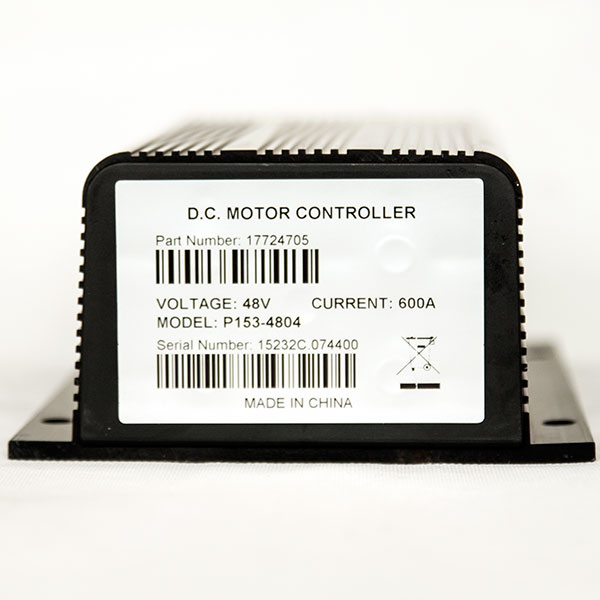 CURTIS Controller P153-4804, 48V / 600A DC Series Motor Speed Controller, Applied as Hydraulic Pump Motor Driving Control Executive