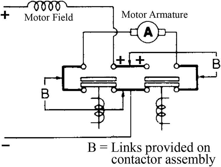 Sw182 Type Motor Reversing Dc Contactor