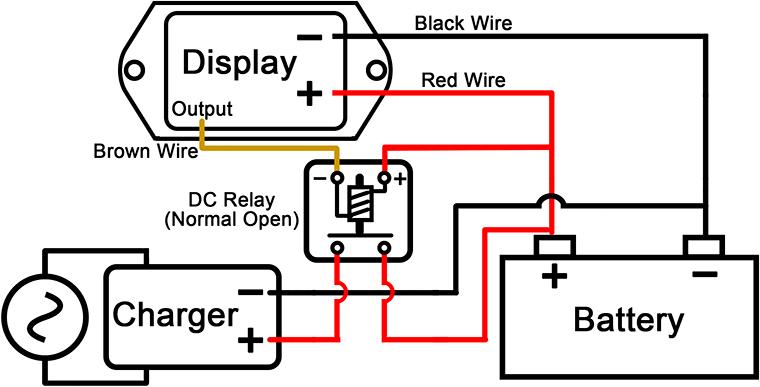 12v    24v Digital Dc Voltage Indicator  Battery Discharge