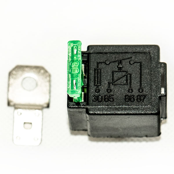 12V / 24V Automotive DC Relay with 30A fuse, model VFSA30, 4 ...  Pin Spst Relay Wiring on